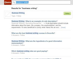 Q&A sites inspire blog content ideas